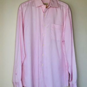 TOMMY BAHAMA🌴Pink Long-Sleeve Button-Down Shirt